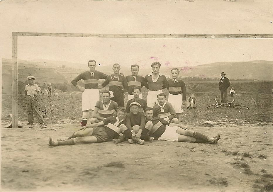 1932 - První zápas po založení klubu